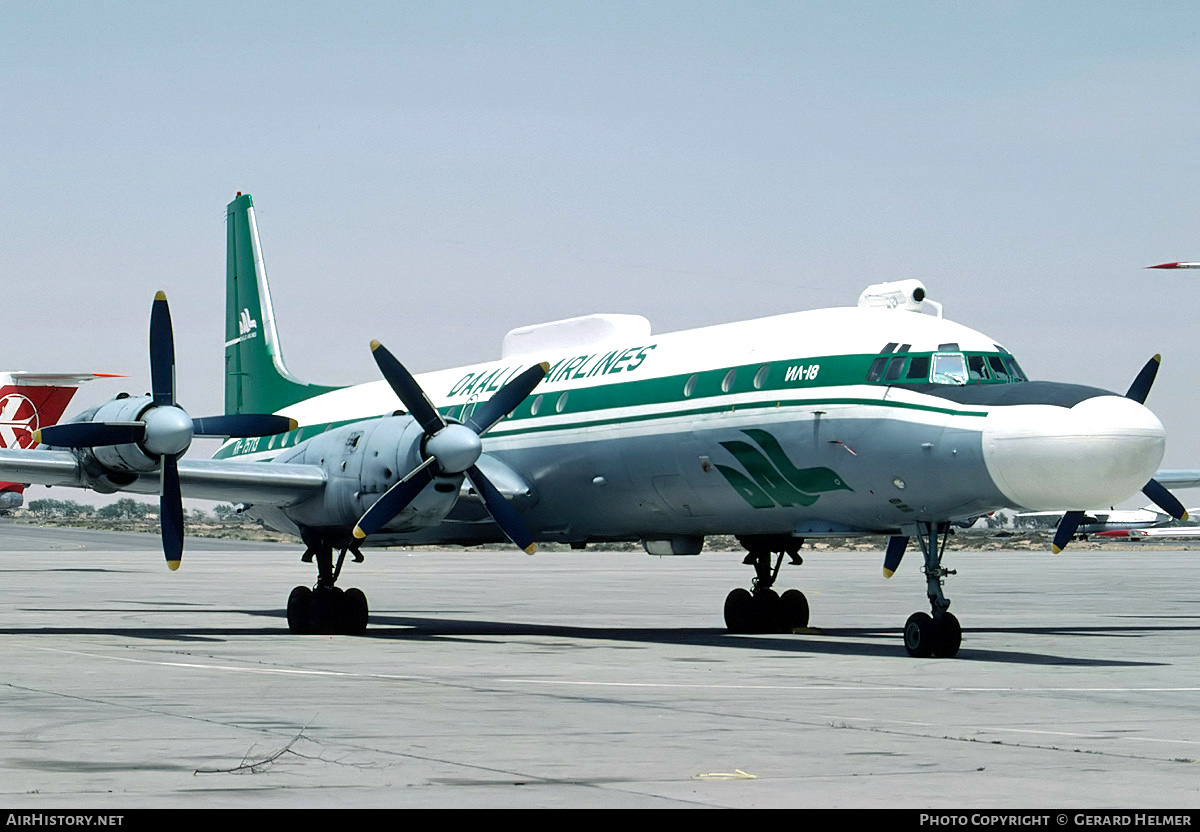 Aircraft Photo of RA-75713 | Ilyushin Il-18D | Daallo Airlines | AirHistory.net #77959