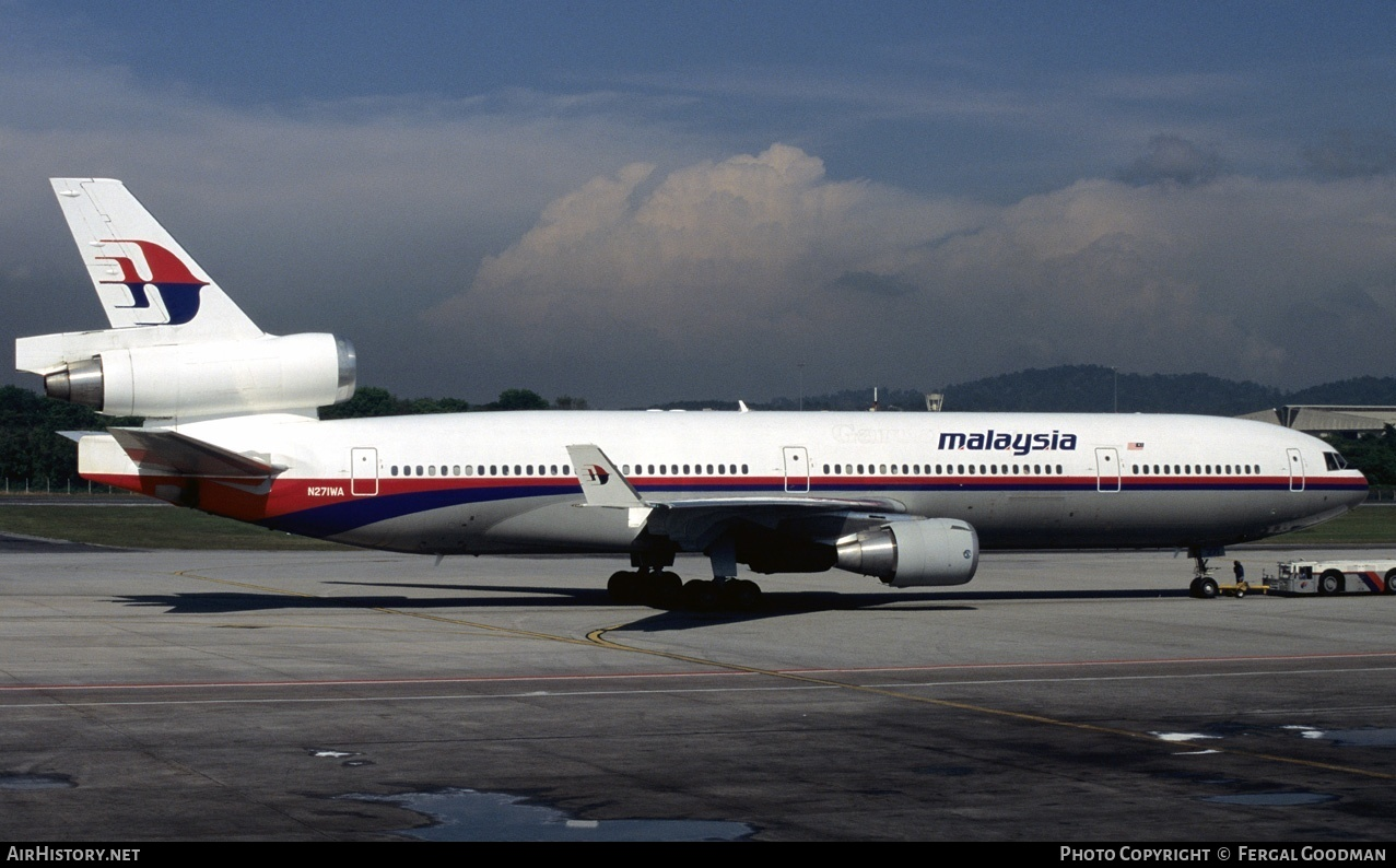 Aircraft Photo of N271WA | McDonnell Douglas MD-11 | Malaysia Airlines | AirHistory.net #78128