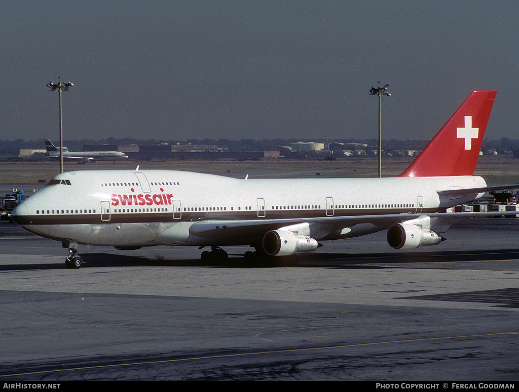 Aircraft Photo of N221GF | Boeing 747-357 | Swissair | AirHistory.net #78276