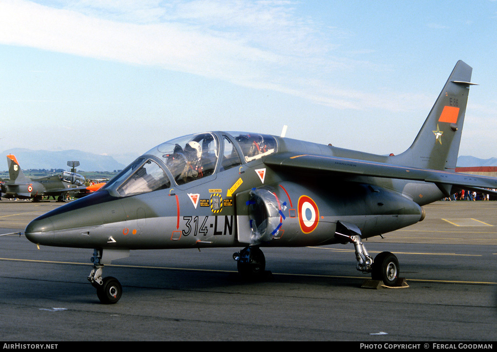 Aircraft Photo of E86 | Dassault-Dornier Alpha Jet E | France - Air Force | AirHistory.net #78296