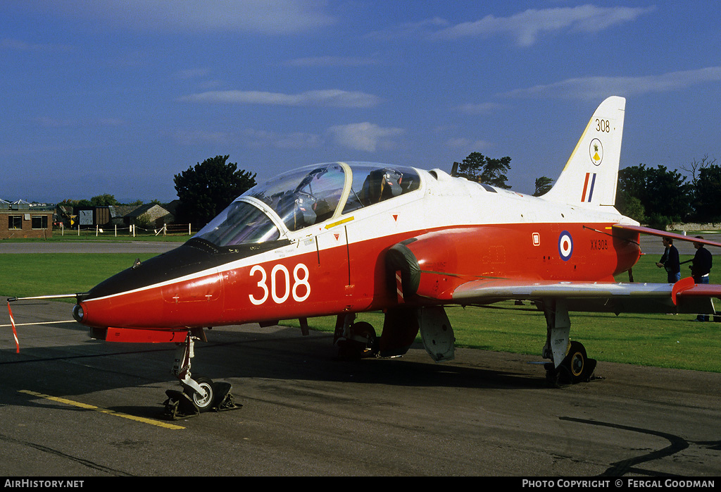 Aircraft Photo of XX308 | British Aerospace Hawk T1 | UK - Air Force | AirHistory.net #78505