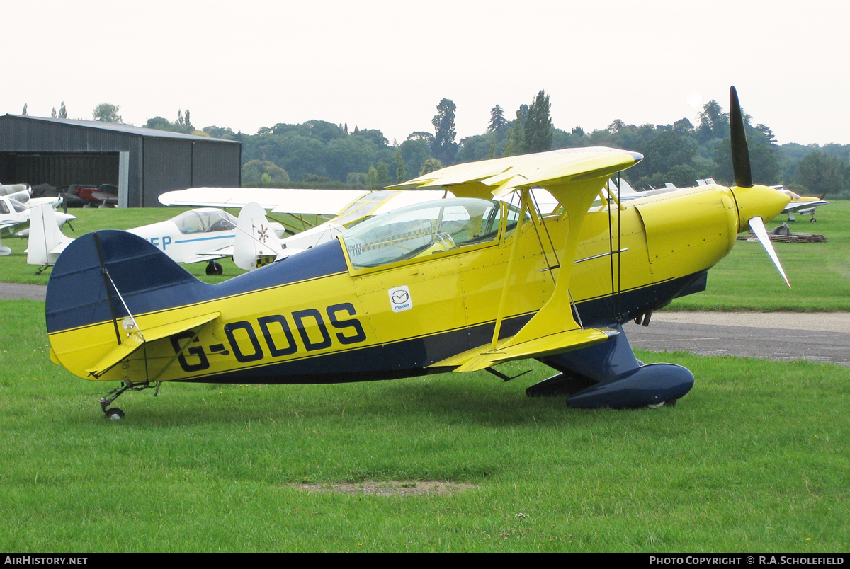 Aircraft Photo of G-ODDS | Aerotek Pitts S-2A Special | AirHistory.net #78614