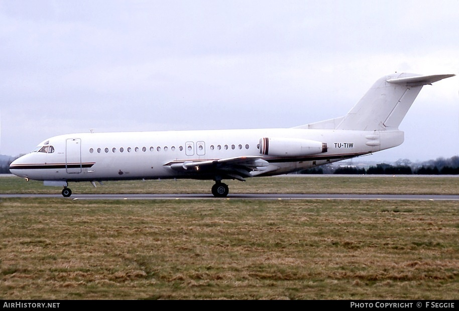 Aircraft Photo of TU-TIW | Fokker F28-4000 Fellowship | Air Ivoire | AirHistory.net #78650