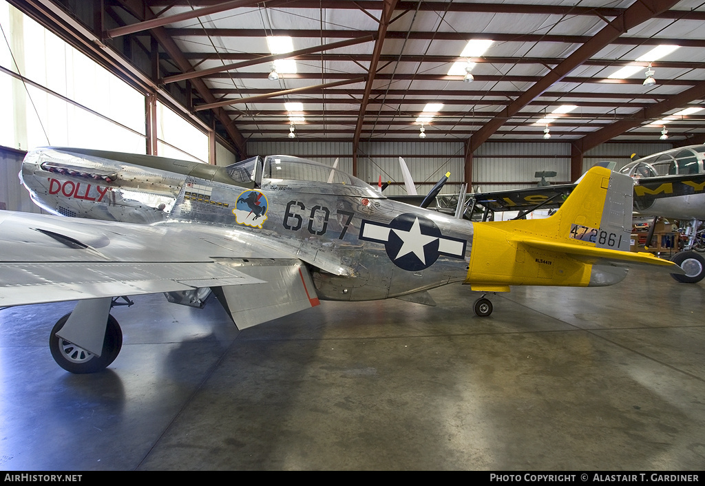 Aircraft Photo of N5441V / NL5441V / 472861 | North American P-51D Mustang | USA - Air Force | AirHistory.net #78669