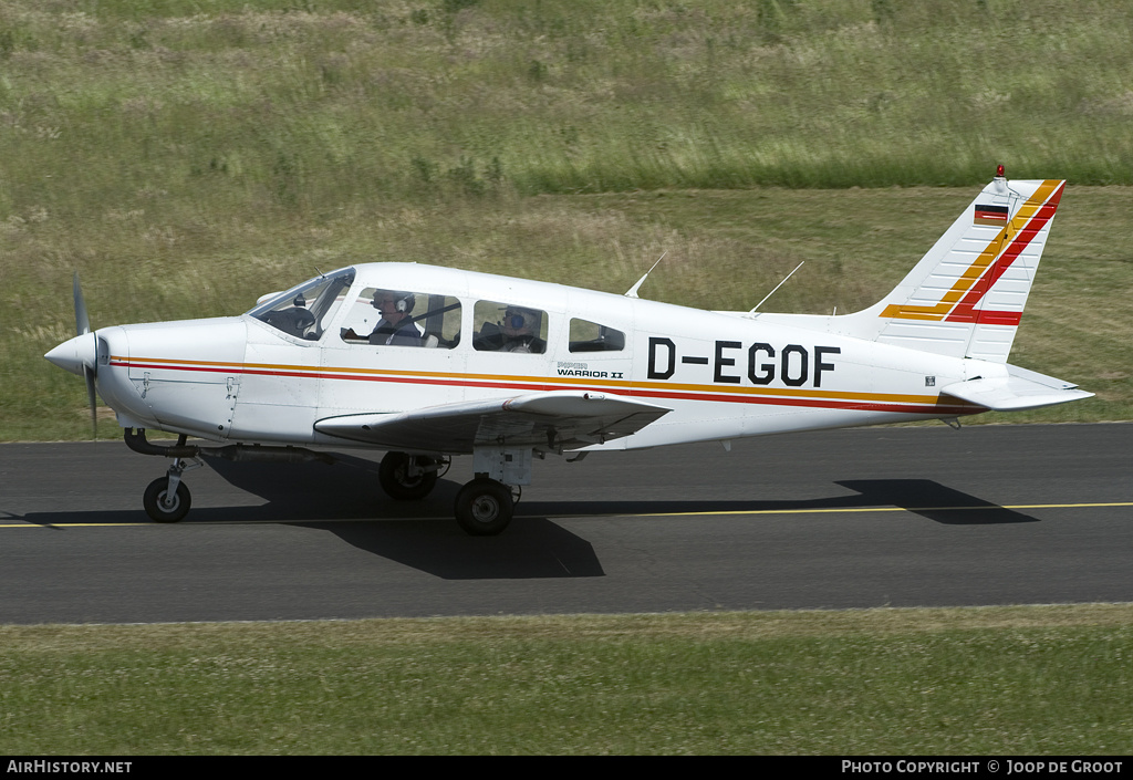 Aircraft Photo of D-EGOF | Piper PA-28-161 Warrior II | AirHistory.net #78688