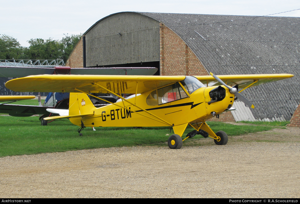 Aircraft Photo of G-BTUM | Piper J-3C-65 Cub | AirHistory.net #78700