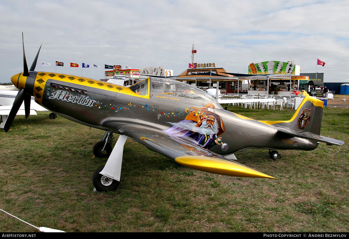 Aircraft Photo of VH-WIK | FEW P-51 replica | AirHistory.net #78844