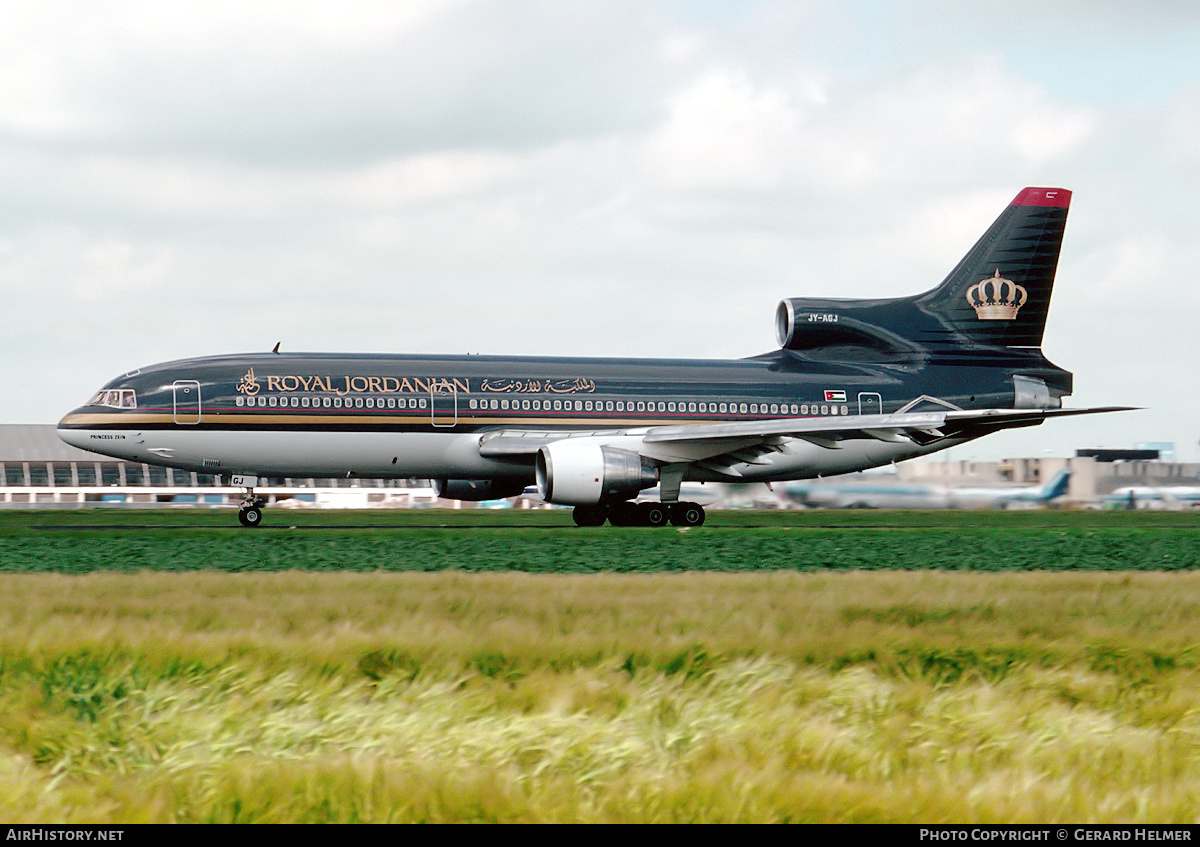 Aircraft Photo of JY-AGJ | Lockheed L-1011-385-3 TriStar 500 | Royal Jordanian Airlines | AirHistory.net #79108