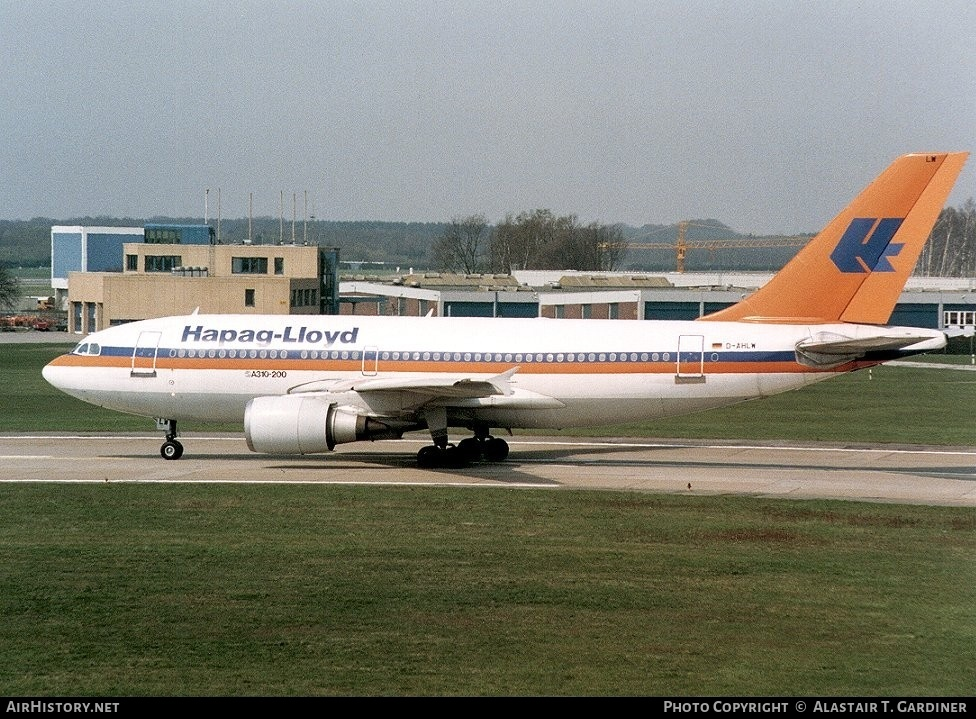 Aircraft Photo of D-AHLW | Airbus A310-204 | Hapag-Lloyd | AirHistory.net #79313