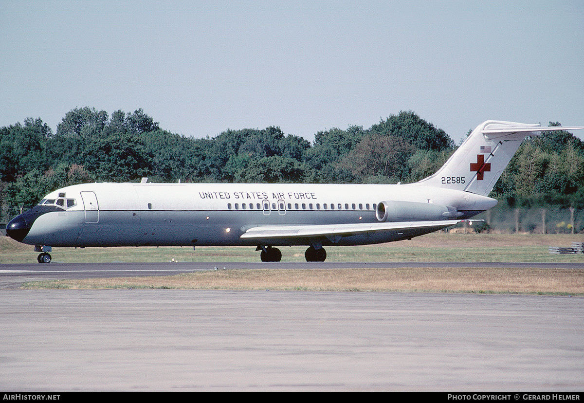Aircraft Photo of 67-22585 / 22585 | McDonnell Douglas C-9A Nightingale (DC-9-32CF) | USA - Air Force | AirHistory.net #79694