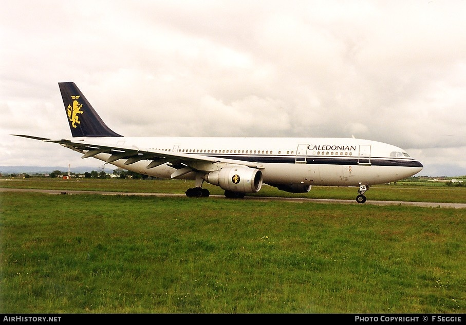 Aircraft Photo of G-TTMC | Airbus A300B4-203FF | Caledonian Airways | AirHistory.net #79850