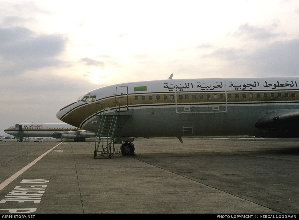 Aircraft Photo of EI-ASO | Boeing 707-349C | Libyan Arab Airlines | AirHistory.net #80221