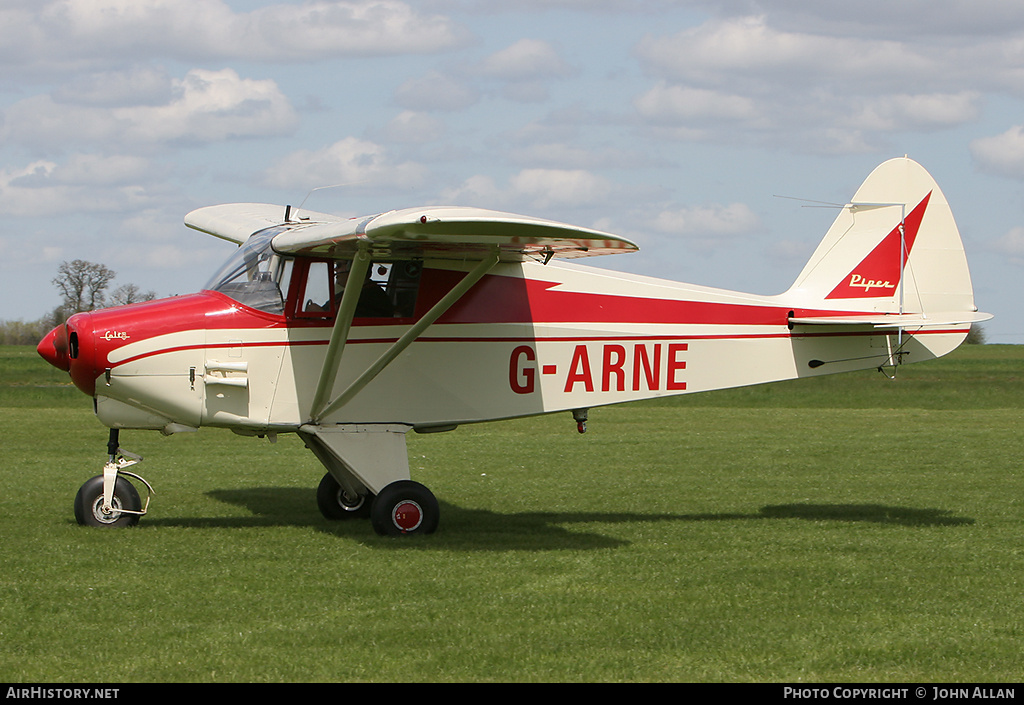 Aircraft Photo of G-ARNE | Piper PA-22-108 Colt | AirHistory.net #80485