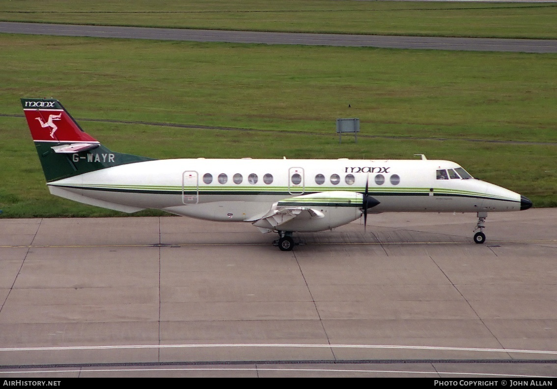 Aircraft Photo of G-WAYR | British Aerospace Jetstream 41 | Manx Airlines | AirHistory.net #80486