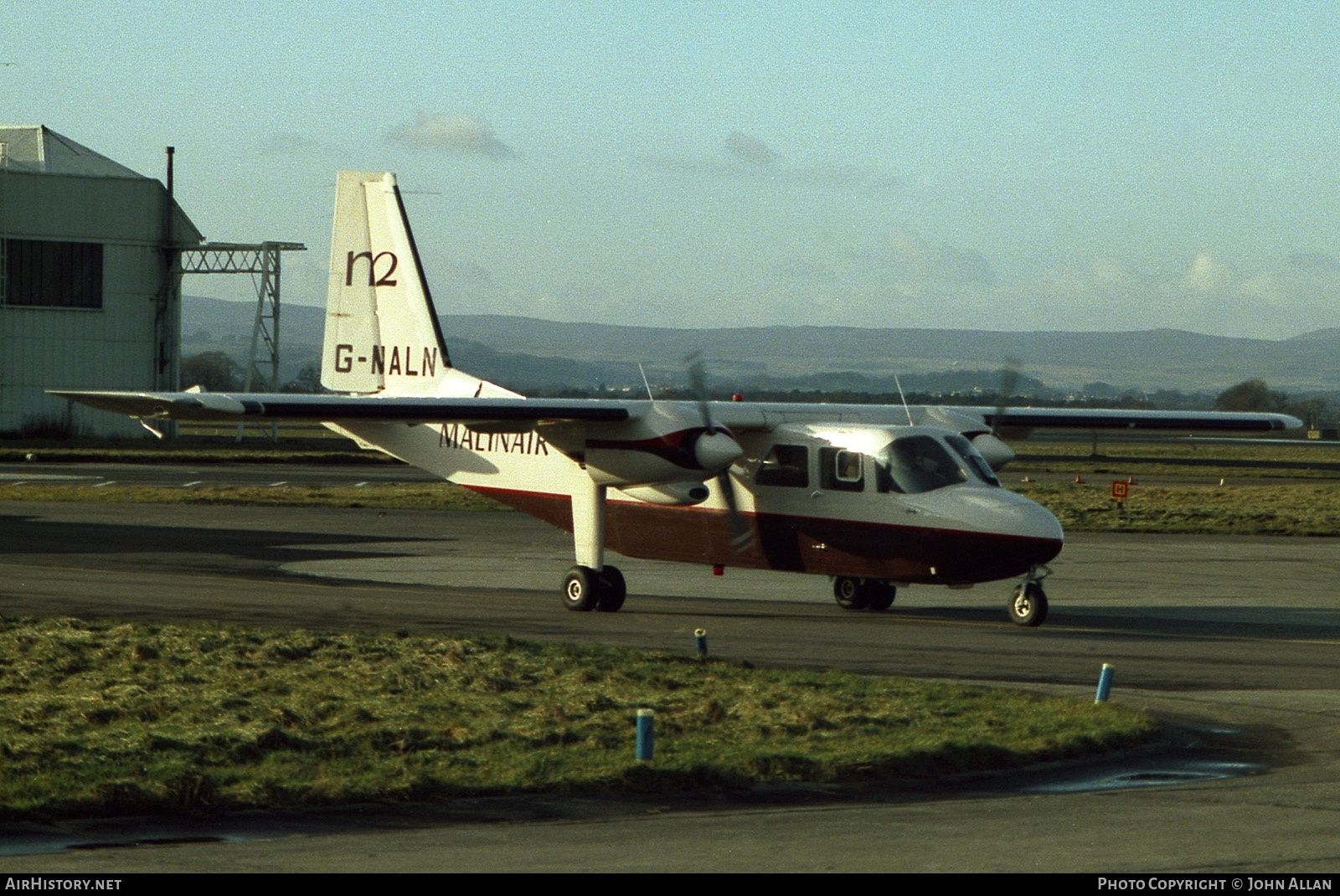 Aircraft Photo of G-MALN | Britten-Norman BN-2A-26 Islander | Malinair | AirHistory.net #80630