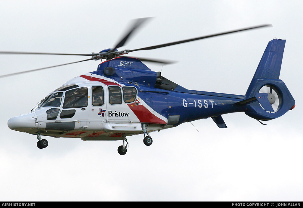 Aircraft Photo of G-ISST | Eurocopter EC-155B-1 | Bristow Helicopters | AirHistory.net #80820