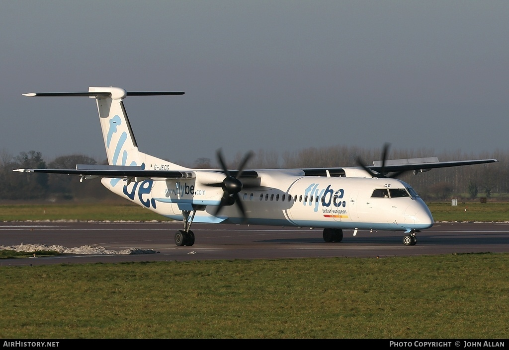 Aircraft Photo of G-JECG | Bombardier DHC-8-402 | Flybe - British European | AirHistory.net #80981