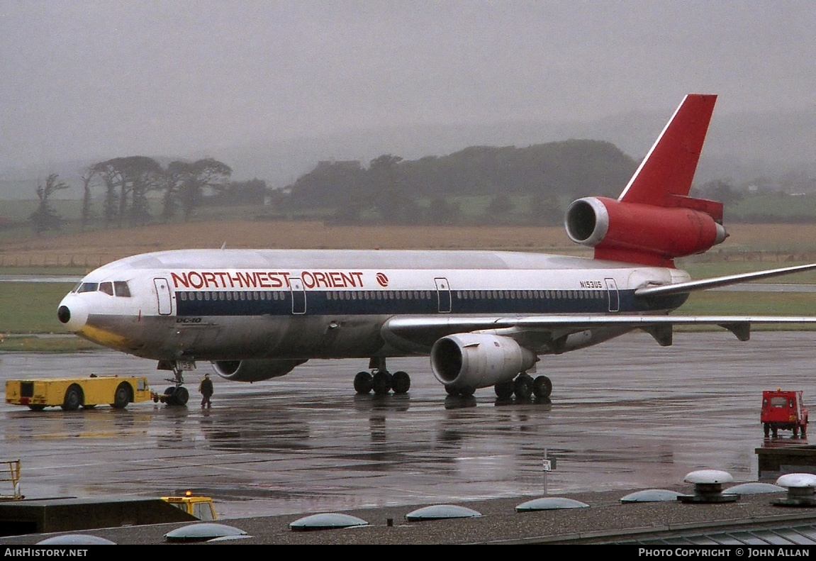Aircraft Photo of N153US | McDonnell Douglas DC-10-40 | Northwest Orient Airlines | AirHistory.net #81074