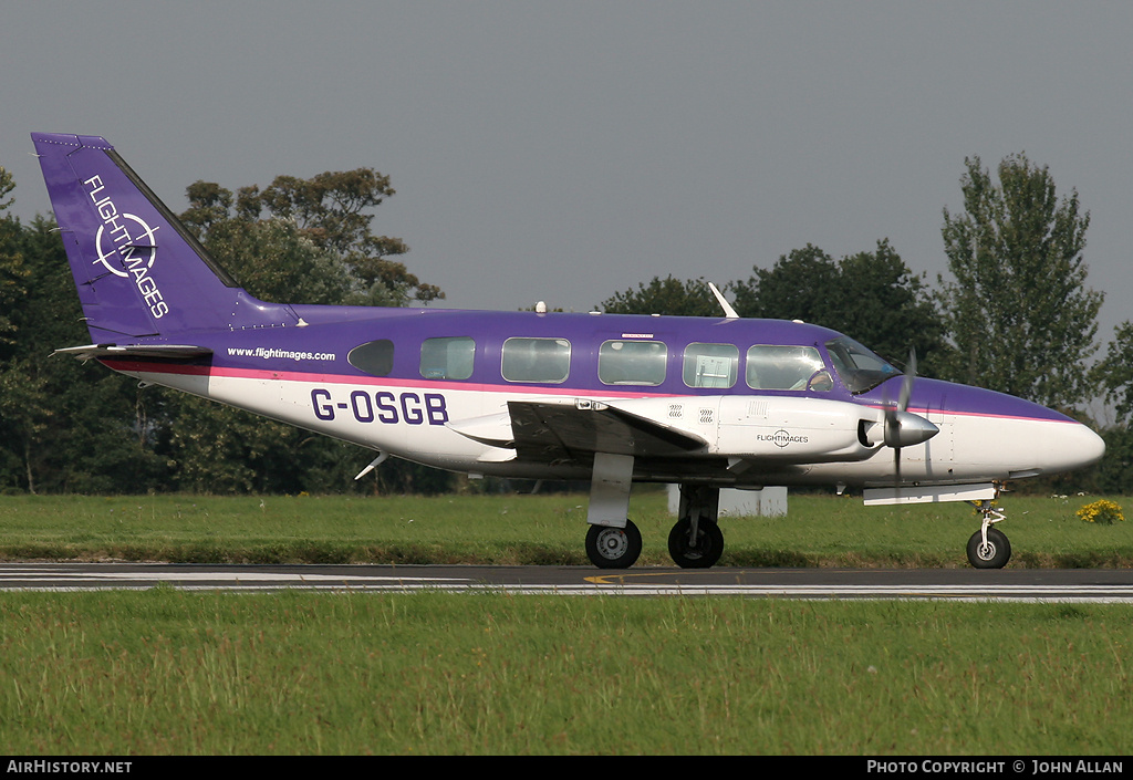Aircraft Photo of G-OSGB | Piper PA-31-350 Navajo Chieftain | Flightimages | AirHistory.net #81097