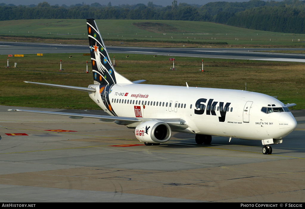 Aircraft Photo of TC-SKD | Boeing 737-4Q8 | Sky Airlines | AirHistory.net #81142