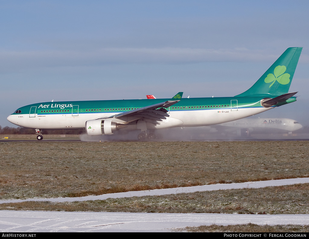 Aircraft Photo of EI-LAX | Airbus A330-202 | Aer Lingus | AirHistory.net #81351