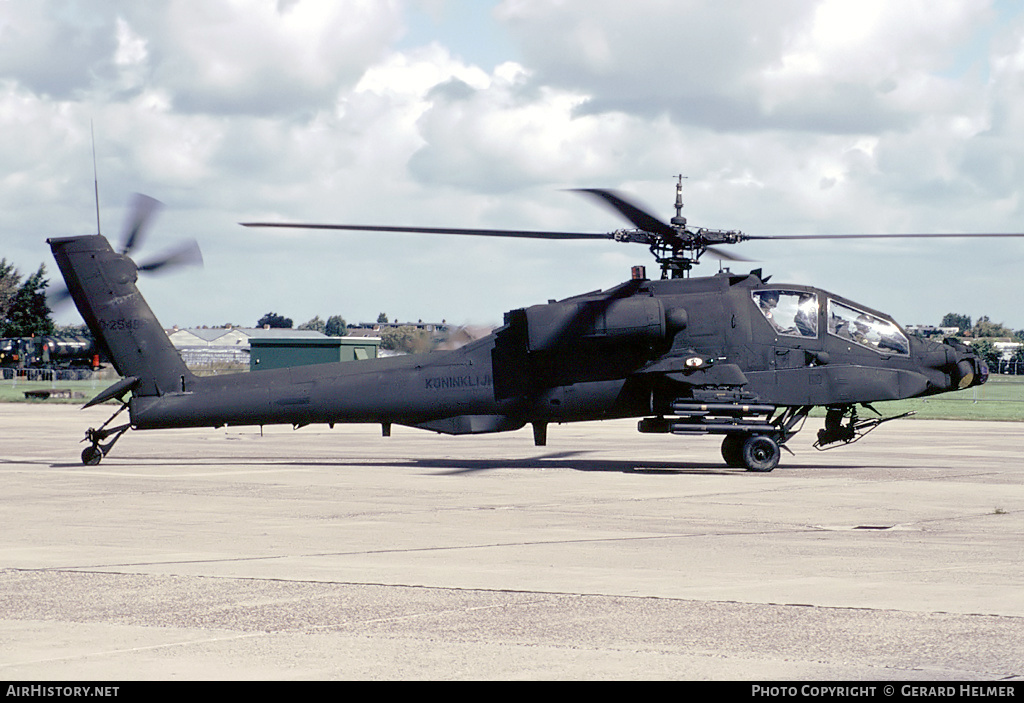 Aircraft Photo of 85-25480 | McDonnell Douglas AH-64A Apache | Netherlands - Air Force | AirHistory.net #81515