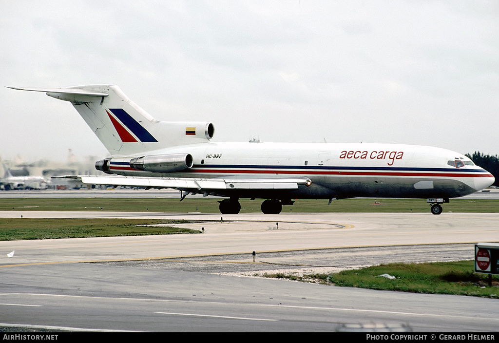 Aircraft Photo of HC-BRF | Boeing 727-23(F) | AECA Carga | AirHistory.net #82464
