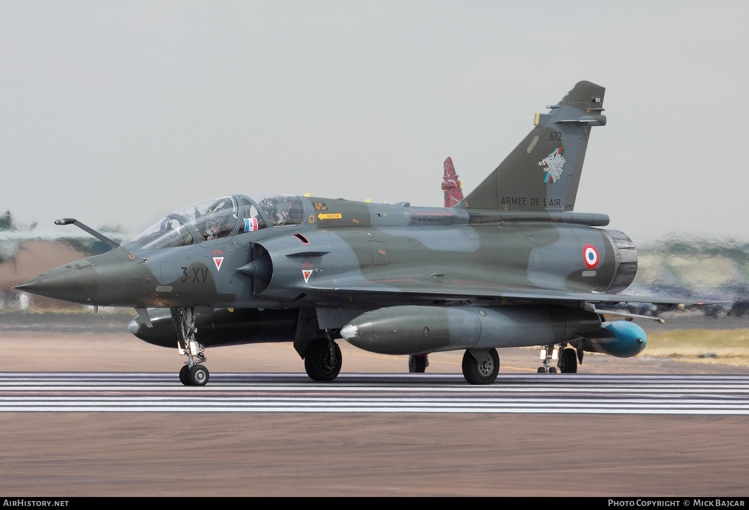 Aircraft Photo of 672 | Dassault Mirage 2000D | France - Air Force | AirHistory.net #82619