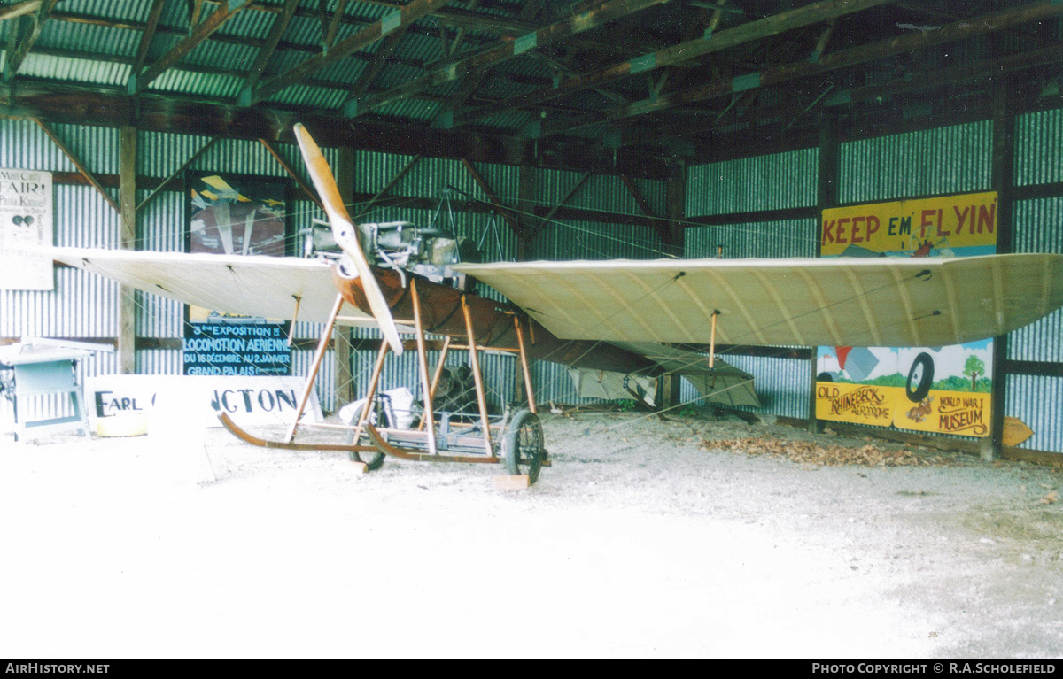 Aircraft Photo of N8449 | Hanriot 1910 Monoplane replica | AirHistory.net #82719