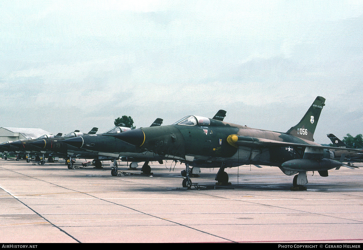 Aircraft Photo of 61-0056 / AF61-056 | Republic F-105D Thunderchief | USA - Air Force | AirHistory.net #82781