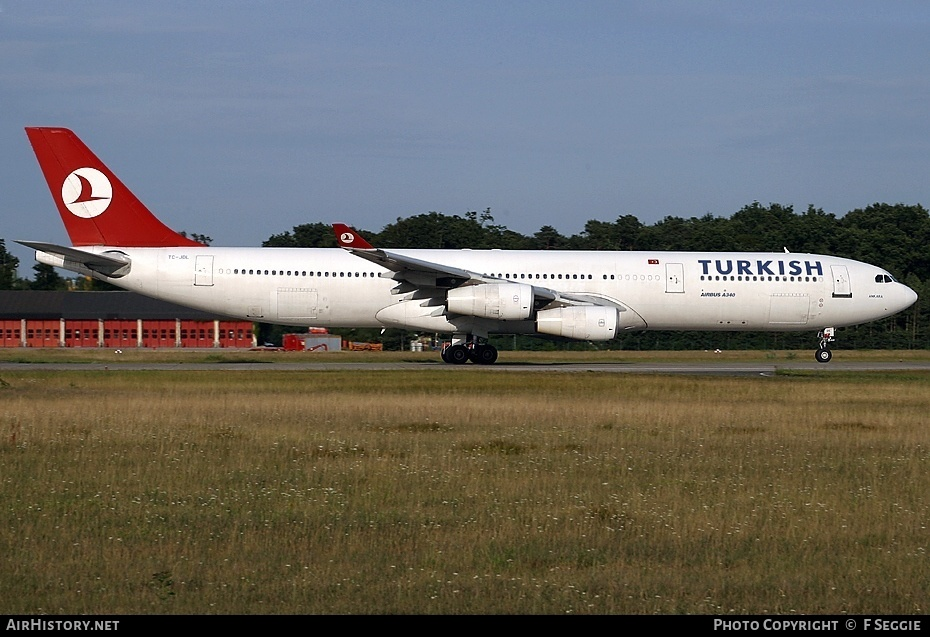 Aircraft Photo of TC-JDL | Airbus A340-311 | Turkish Airlines | AirHistory.net #83179