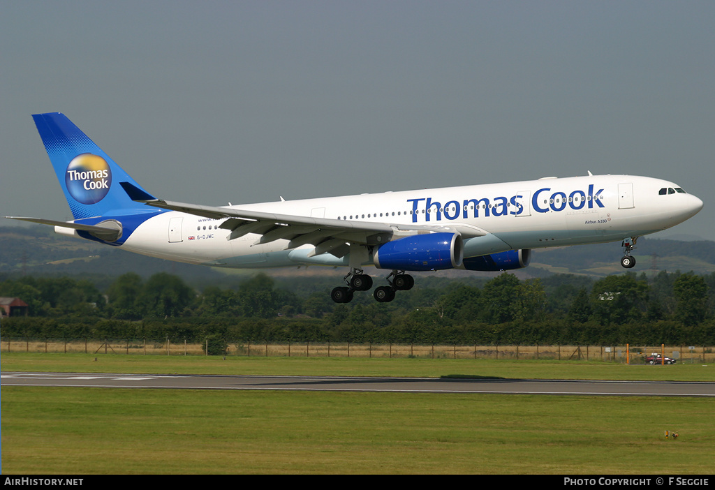 Aircraft Photo of G-OJMC | Airbus A330-243 | Thomas Cook Airlines | AirHistory.net #83368