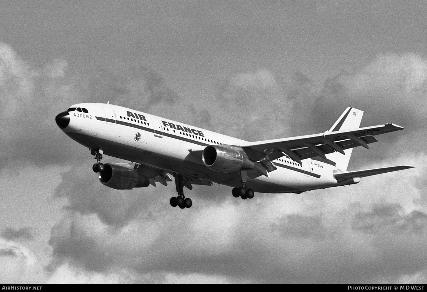 Aircraft Photo of F-BVGB | Airbus A300B2-101 | Air France | AirHistory.net #83619