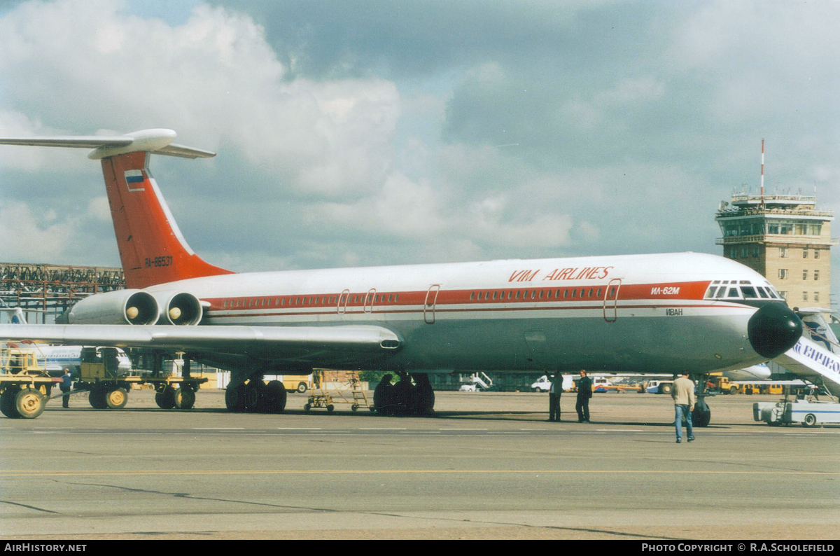 Aircraft Photo of RA-86531 | Ilyushin Il-62M | VIM Airlines | AirHistory.net #83652