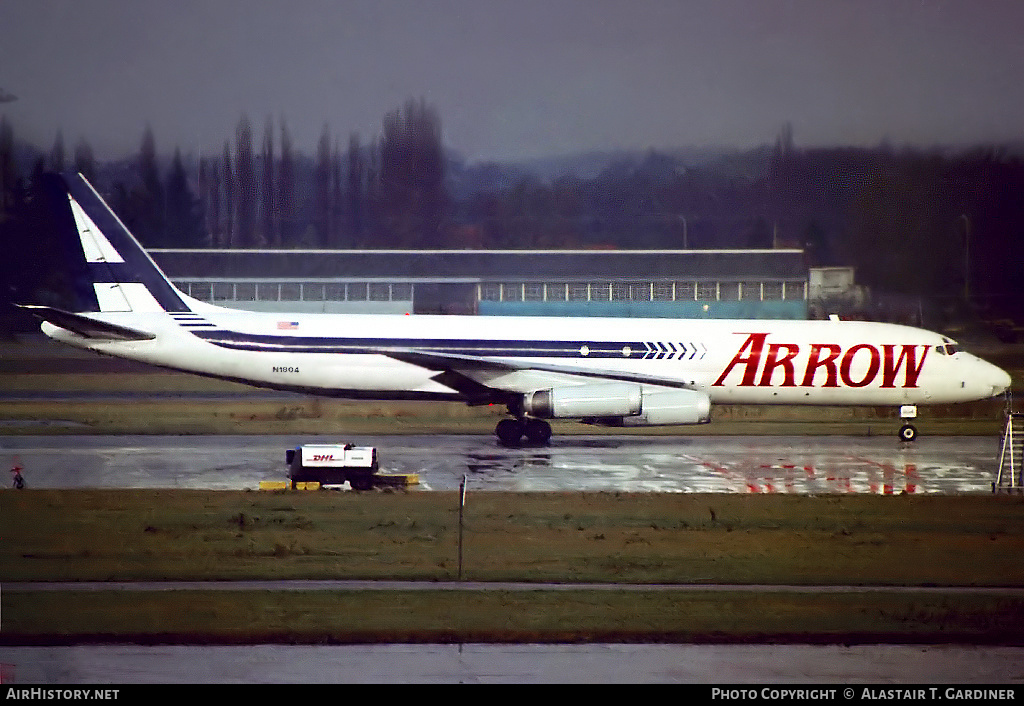 Aircraft Photo of N1804 | McDonnell Douglas DC-8-62(F) | Arrow Air | AirHistory.net #83724