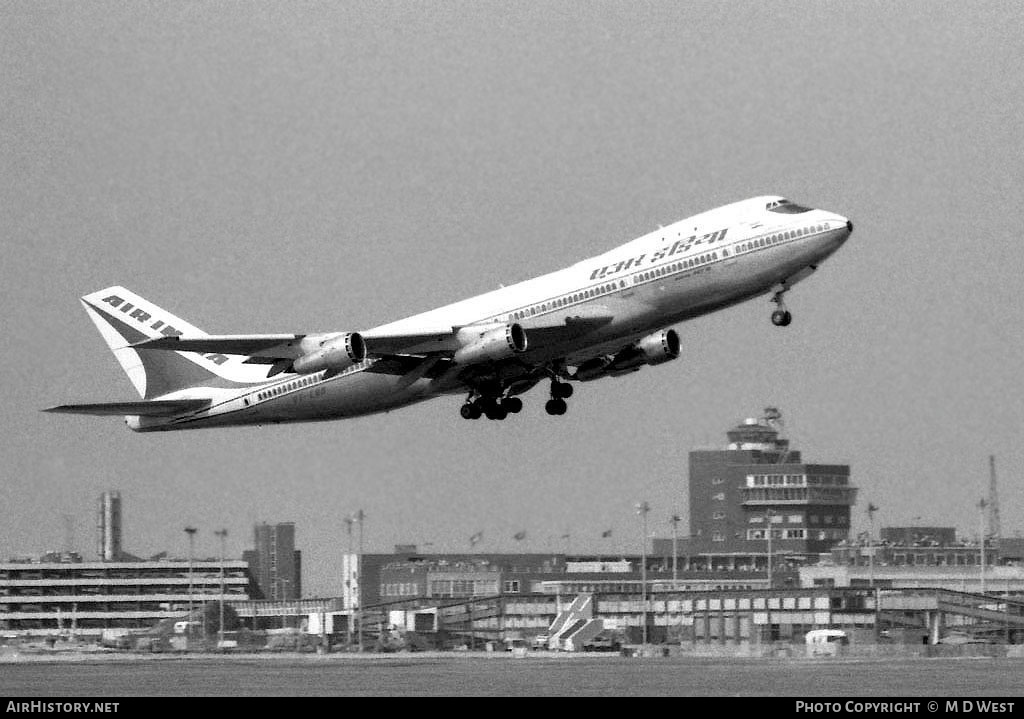 Aircraft Photo of VT-EBD | Boeing 747-237B | Air-India | AirHistory.net #83817