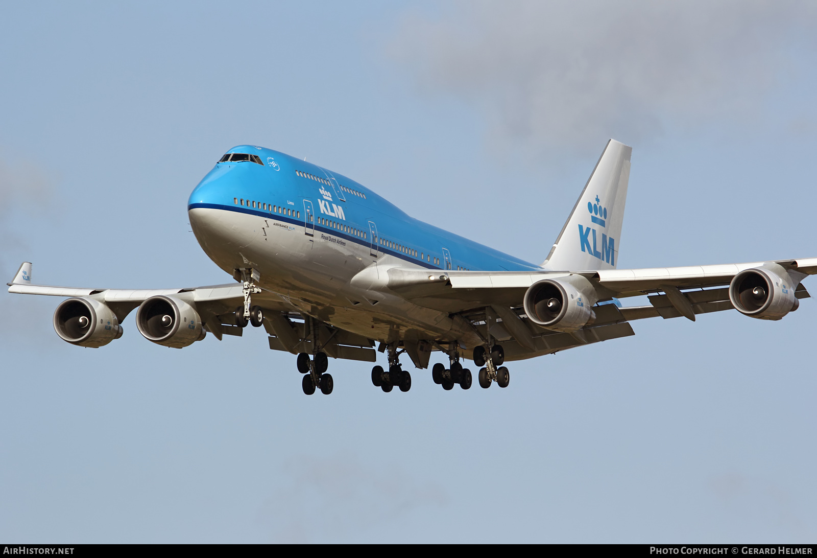 Aircraft Photo of PH-BFL | Boeing 747-406 | KLM - Royal Dutch Airlines | AirHistory.net #83951