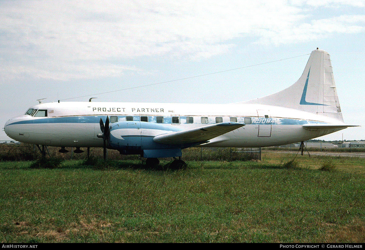 Aircraft Photo of N90844 | Convair 240-3 | Project Partner | AirHistory.net #84046