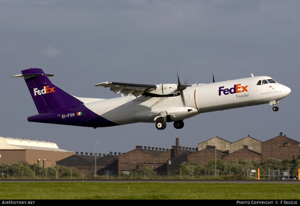 Aircraft Photo of EI-FXH | ATR ATR-72-202(F) | FedEx Feeder | AirHistory.net #84170