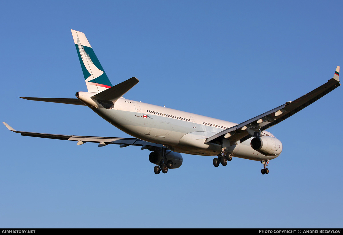 Aircraft Photo of B-HLW | Airbus A330-343 | Cathay Pacific Airways | AirHistory.net #84265