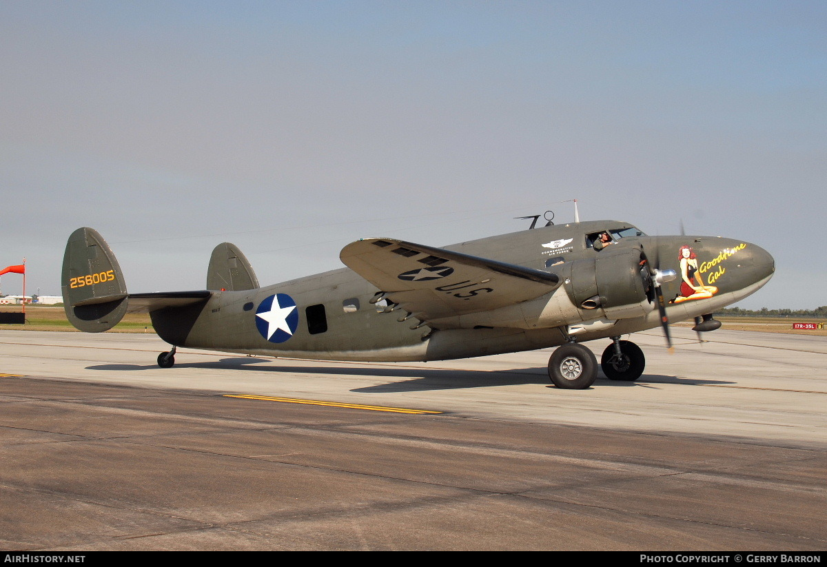 Aircraft Photo of N60JT / 258005 | Lockheed 18-50 Lodestar | Commemorative Air Force | USA - Air Force | AirHistory.net #84495