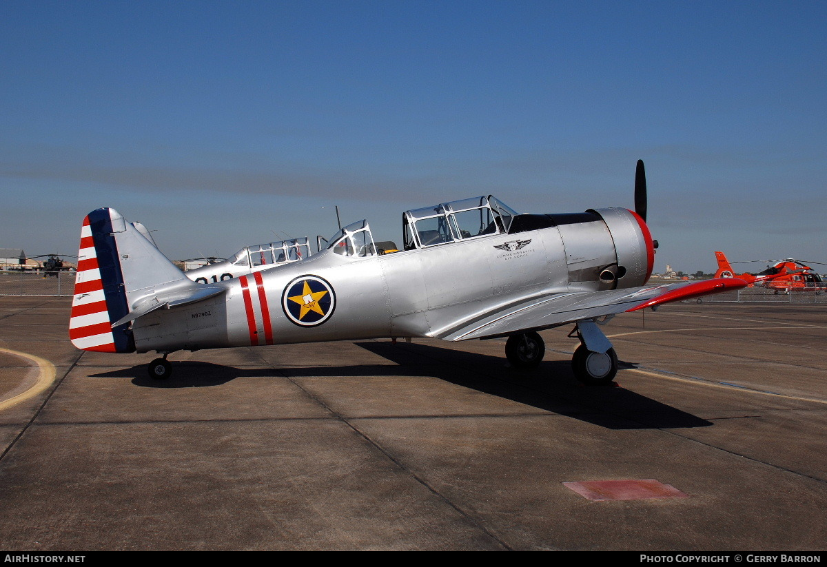 Aircraft Photo of N9790Z | North American AT-6A Texan | Commemorative Air Force | AirHistory.net #84498