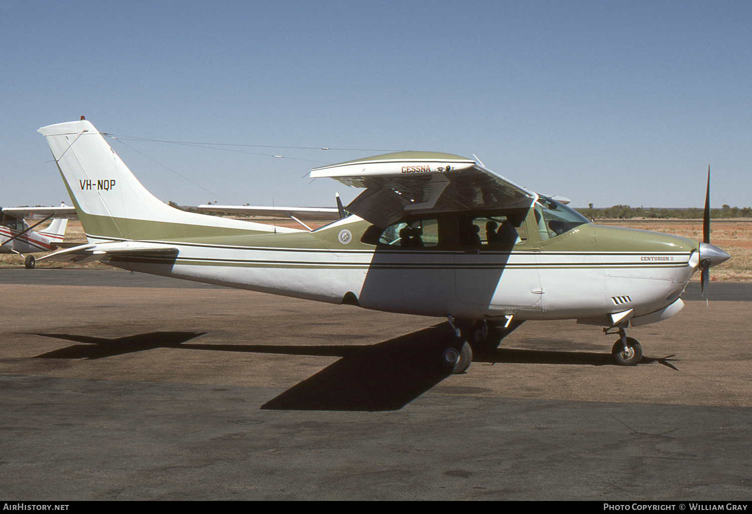 Aircraft Photo of VH-NQP | Cessna 210N Centurion II | AirHistory.net #84852