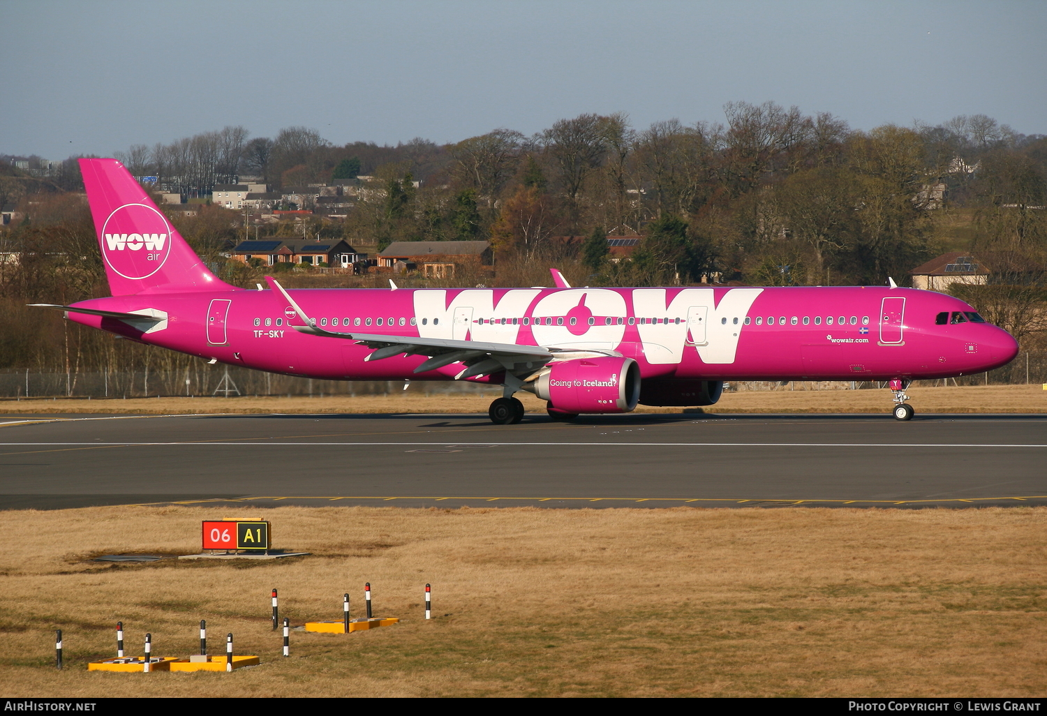 Aircraft Photo of TF-SKY | Airbus A321-253N | WOW Air | AirHistory.net #85020