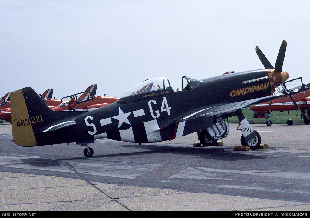 Aircraft Photo of N6340T / 463221 | North American P-51D Mustang | USA - Air Force | AirHistory.net #85197