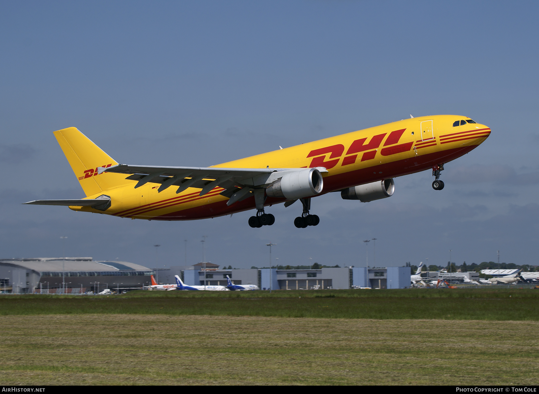 Aircraft Photo of D-AEAL | Airbus A300B4-622R | DHL | AirHistory.net #85547
