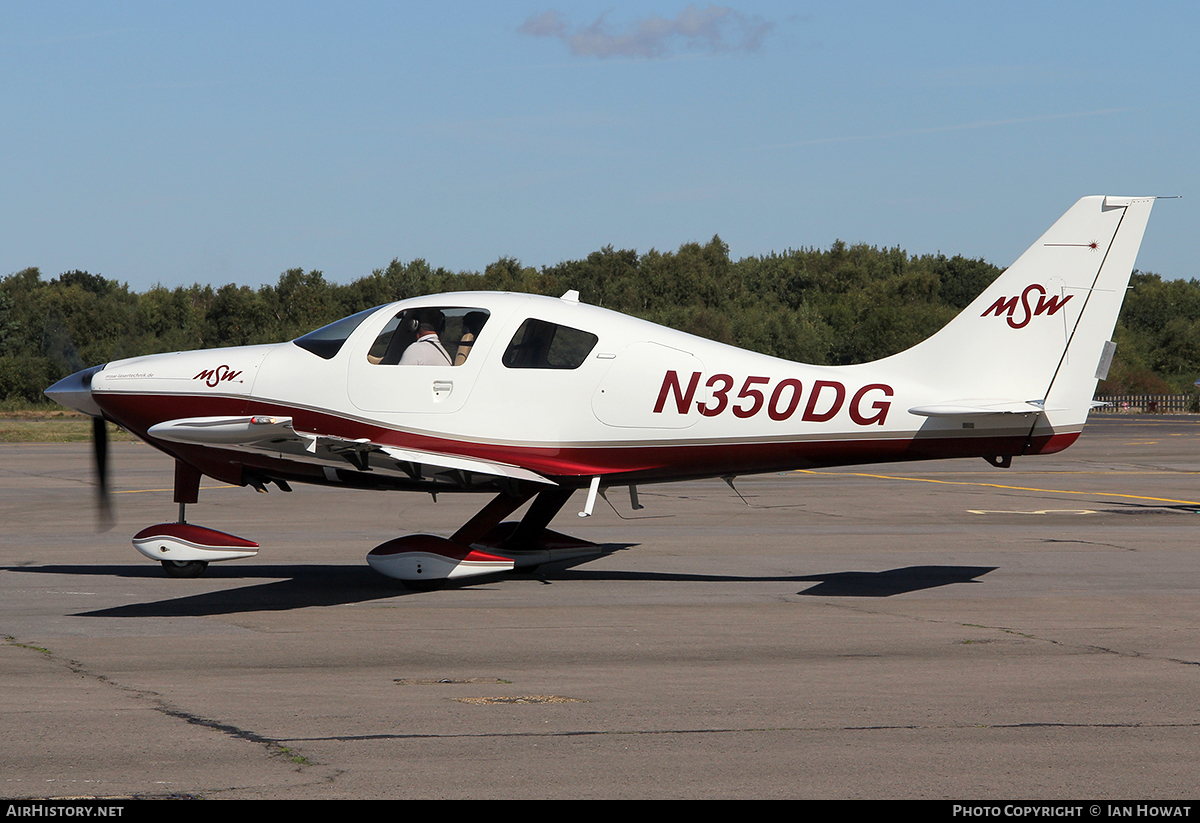 Aircraft Photo of N350DG | Lancair LC-42-550FG Columbia 350 | MSW Lasertechnik | AirHistory.net #85659