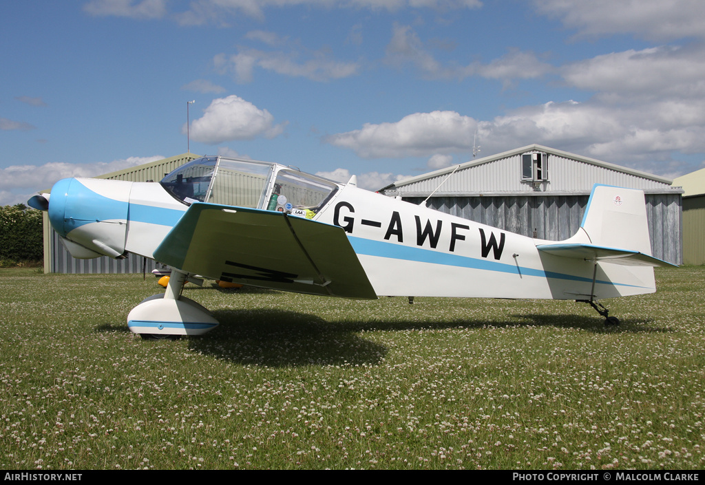 Aircraft Photo of G-AWFW | Jodel D.117 | AirHistory.net #85886