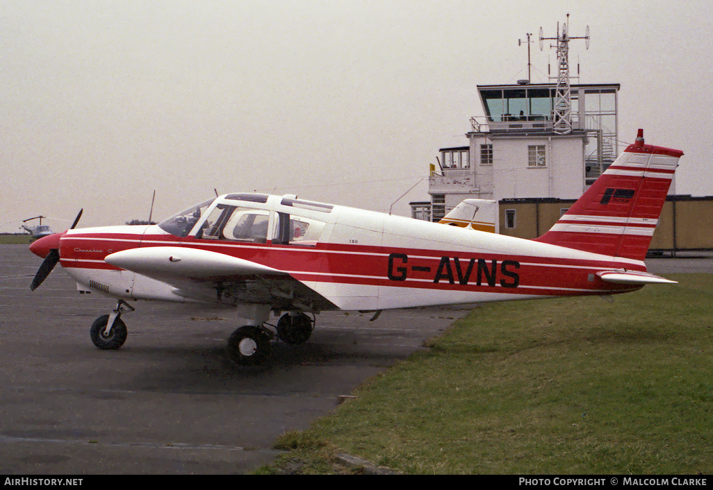 Aircraft Photo of G-AVNS | Piper PA-28-180(mod) Cherokee C | AirHistory.net #85959