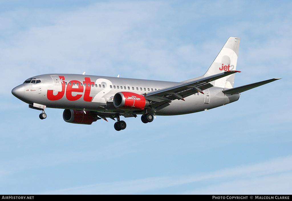 Aircraft Photo of G-CELD | Boeing 737-33A | Jet2 | AirHistory.net #86100